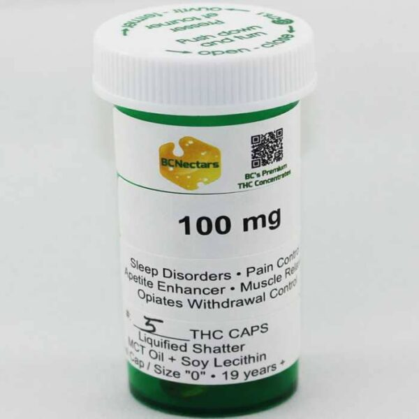 a picture of BC-Nectars-Liquified-Shatter-THC-Caps-100.jpg