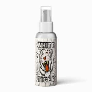 a picture of white tiger alcohol grey